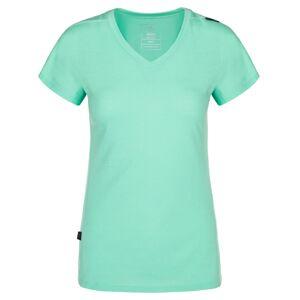 Dámské funkční tričko kilpi merin-w tyrkysová 36