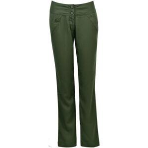Dámské kalhoty bushman niobrara tmavě zelená 36