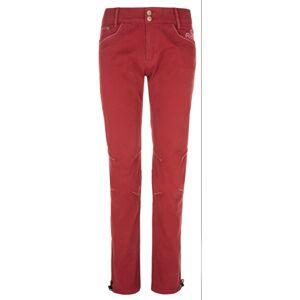 Dámské kalhoty kilpi danny-w tmavě červená 42s