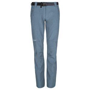 Dámské kalhoty kilpi wanaka-w modrá 42s