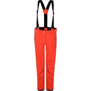 Dámské lyžařské kalhoty dare2b effused pant cyber oranžová 42