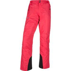 Dámské lyžařské kalhoty kilpi gabone-w růžová   36