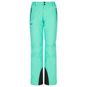Dámské lyžařské kalhoty kilpi gabone-w tyrkysová 36s