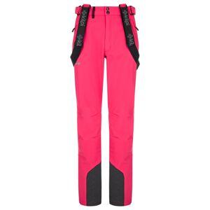 Dámské lyžařské kalhoty kilpi rhea-w růžová 34