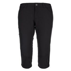 Dámské outdoorové 3/4 kalhoty kilpi otara-w černá 38
