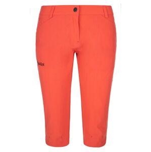 Dámské outdoorové 3/4 kalhoty kilpi trenta-w korálová 52