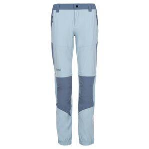 Dámské outdoorové kalhoty kilpi hosio-w světle modrá 36