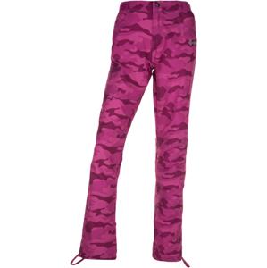 Dámské outdoorové kalhoty kilpi mimicri-w růžová  42