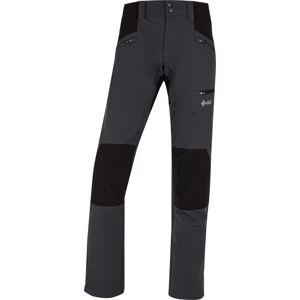 Dámské outdoorové kalhoty kilpi tide-w tmavě šedá   36