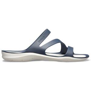 Dámské sandály crocs swiftwater tmavě modrá/bílá 38-39