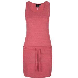 Dámské šaty kilpi mazamet-w růžová  36