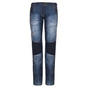 Dámské softshellové kalhoty kilpi jeanso-w modrá 42