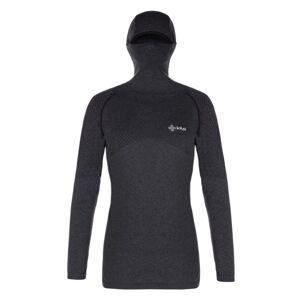 Dámské termo tričko kilpi ninja-w tmavě šedá 44