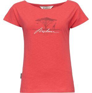 Dámské tričko bushman bogalusa červená s