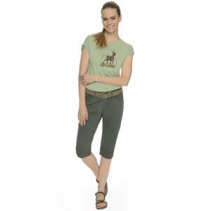 Dámské tričko bushman gia světle zelená xxl