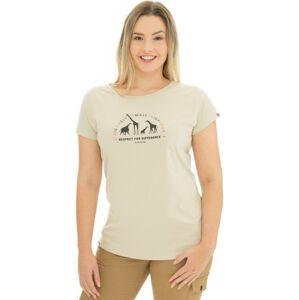 Dámské tričko bushman natalie béžová s