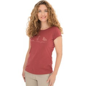 Dámské tričko bushman natalie červená l