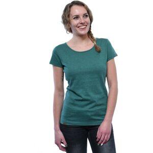 Dámské tričko bushman tamara tmavě zelená xxxl