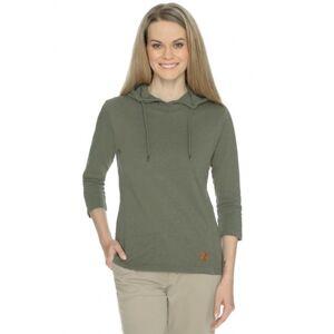 Dámské tričko bushman tara zelená xxxl