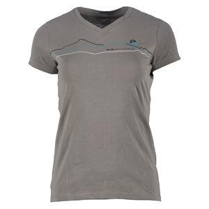 Dámské tričko gts 2192 šedá 44