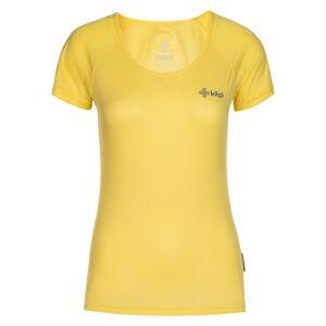 Dámské tričko kilpi dimaro-w žlutá 36