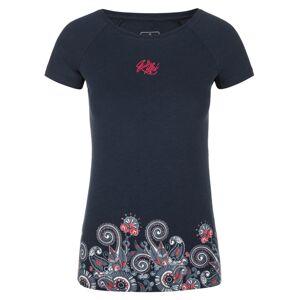 Dámské tričko kilpi mint-w tmavě modrá 34