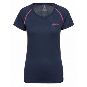 Dámské tričko kilpi rainbow-w tmavě modrá  36