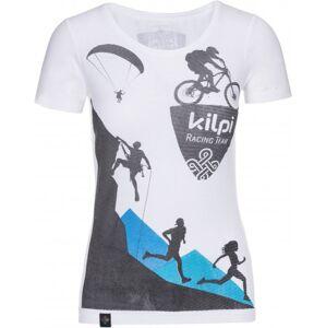 Dámské tričko kilpi temy-w bílá 34
