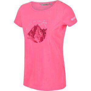 Dámské tričko regatta breezed růžová 48