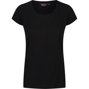 Dámské tričko regatta carlie černá 40
