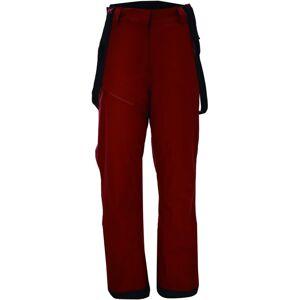 Dámské zimní lyžařské kalhoty 2117 lingbo vínově červená 42