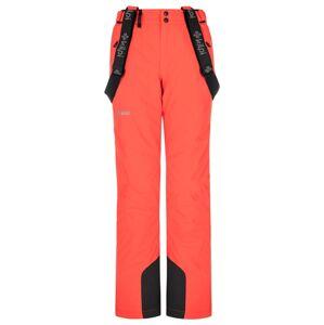 Dámské zimní lyžařské kalhoty kilpi elare-w korálová 34