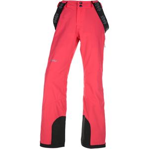 Dámské zimní lyžařské kalhoty kilpi europa-w růžová  40