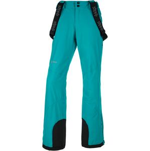 Dámské zimní lyžařské kalhoty kilpi europa-w tyrkysová  44