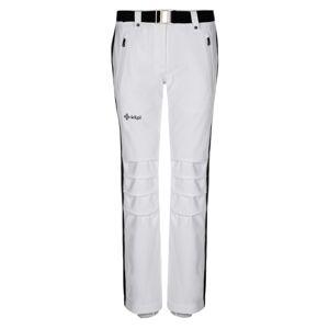 Dámské zimní lyžařské kalhoty kilpi hanzo-w bílá 40