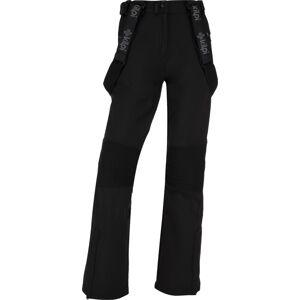 Dámské zimní softshellové kalhoty kilpi dione-w černá   44