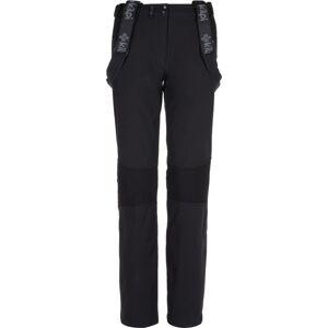 Dámské zimní softshellové kalhoty kilpi dione-w černá 46