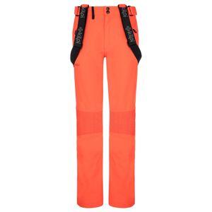 Dámské zimní softshellové kalhoty kilpi dione-w korálová 38