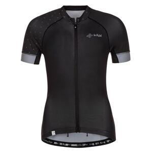 Dámský cyklistický dres kilpi wild-w černá 38
