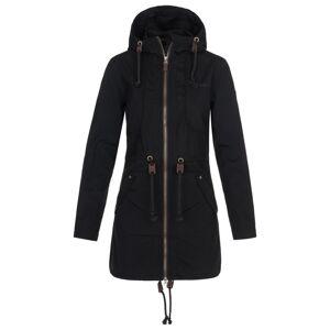 Dámský kabát kilpi pau-w černá 44