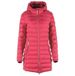 Dámský prošívaný kabát gts 5007 růžová 44