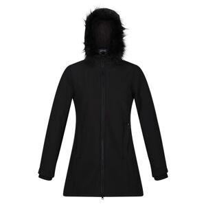 Dámský softshellový kabát regatta sunaree černá 42