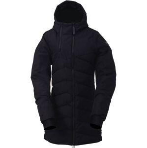 Dámský zateplený kabát 2117 ellanda černá m
