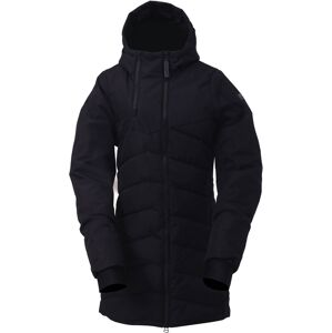 Dámský zateplený kabát 2117 ellanda černá s
