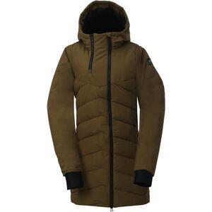 Dámský zateplený kabát 2117 ellanda zelená l