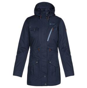 Dámský zimní kabát kilpi brasil-w tmavě modrá 36