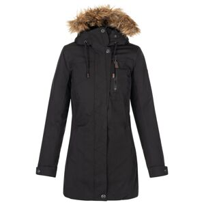 Dámský zimní kabát kilpi peru-w černá 36