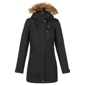 Dámský zimní kabát kilpi peru-w černá 44