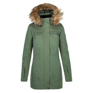 Dámský zimní kabát kilpi peru-w khaki 46