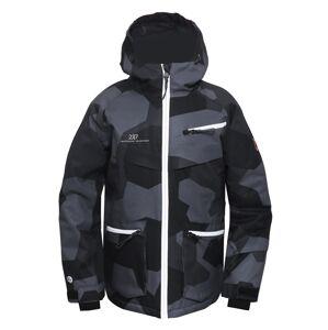 Dětská lyžařská bunda 2117 isfal černá 128